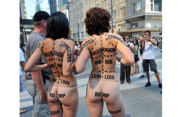 Undressing for Animal Rights