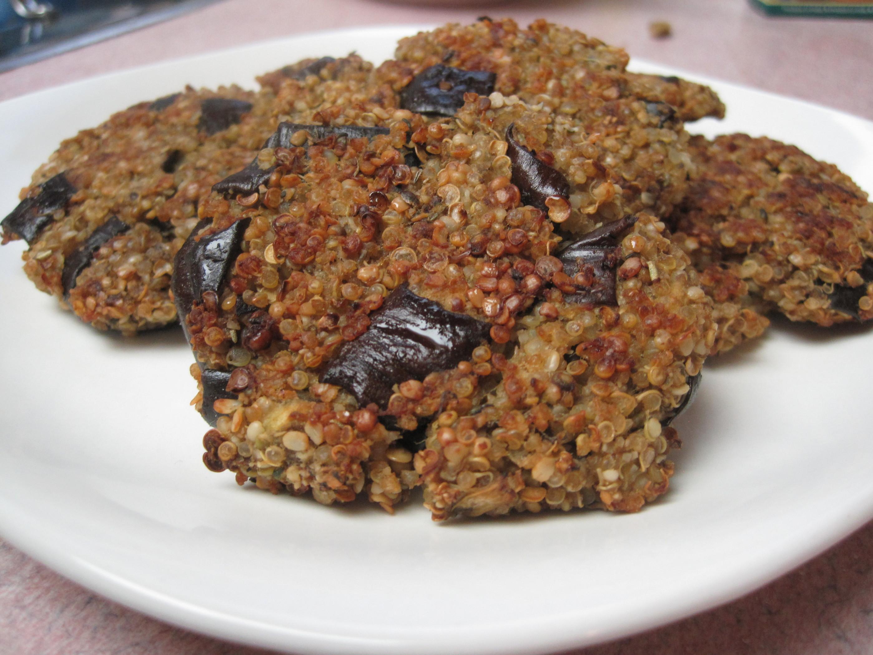 Eggplant Quinoa Bites