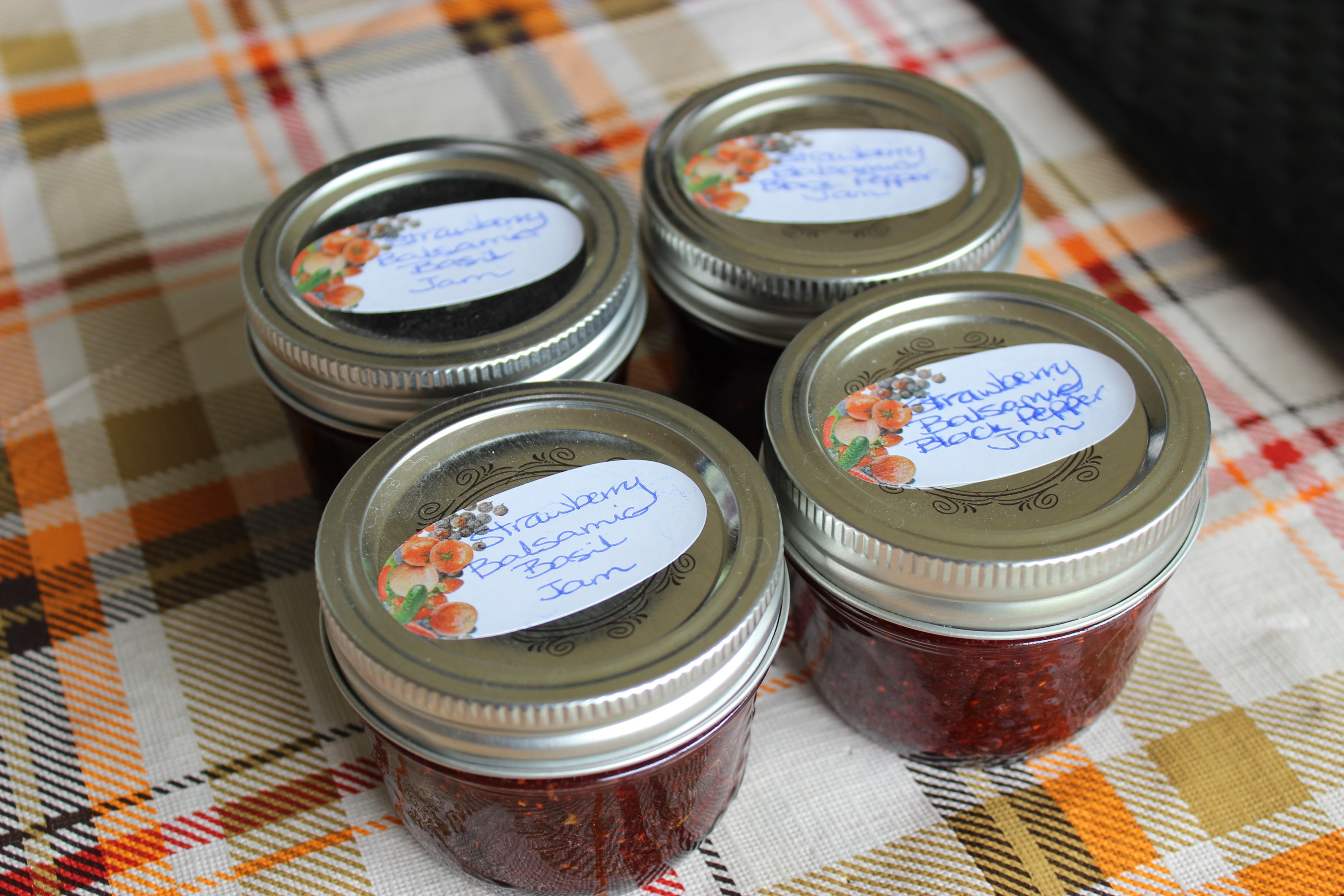 Strawberry Jam – Three Ways