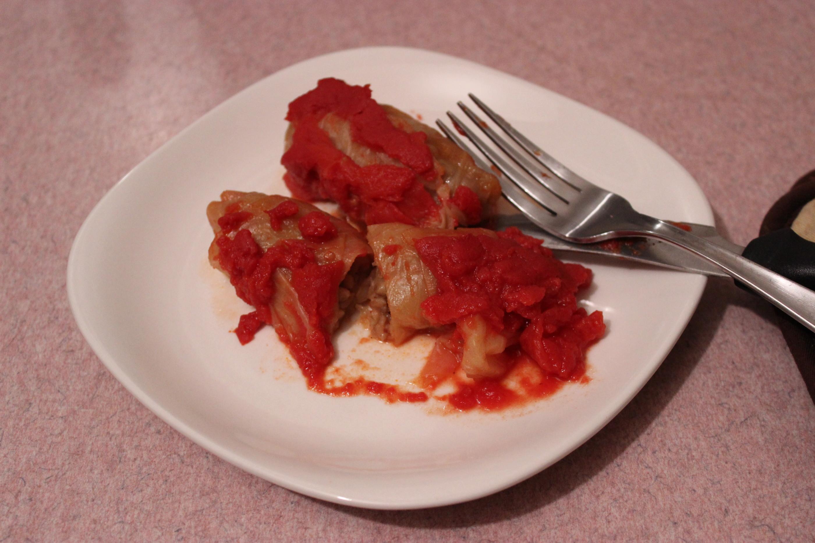 Gluten Free & Vegan Buckwheat Cabbage Rolls