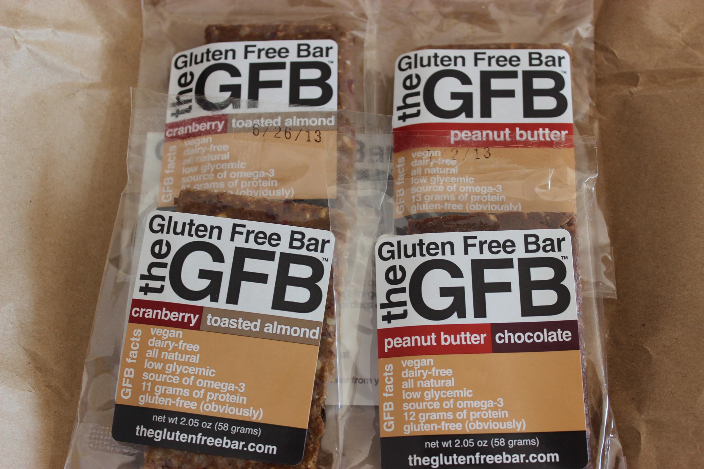 {product review + promo} The Gluten Free Bar