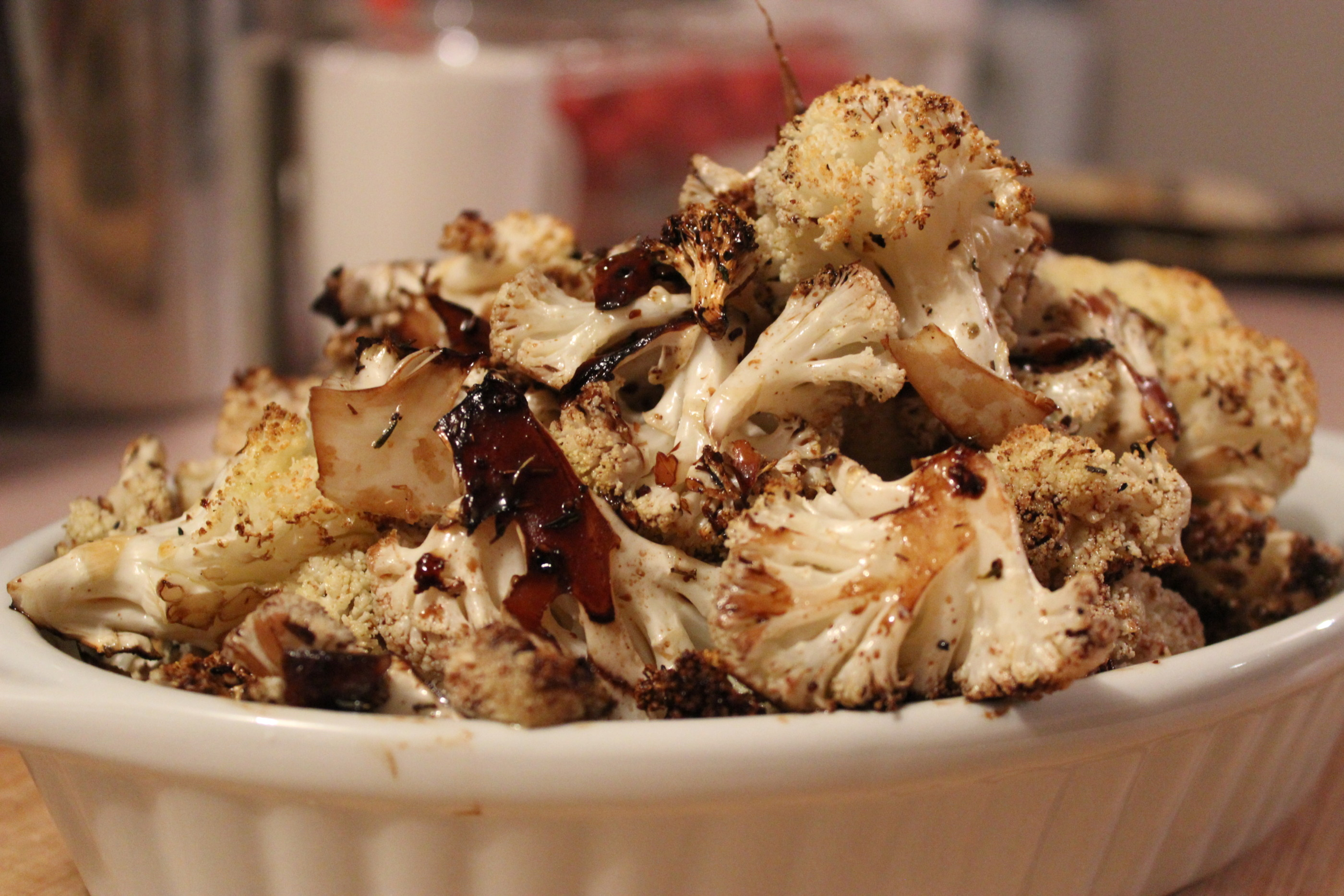 Balsamic Roasted Cauliflower