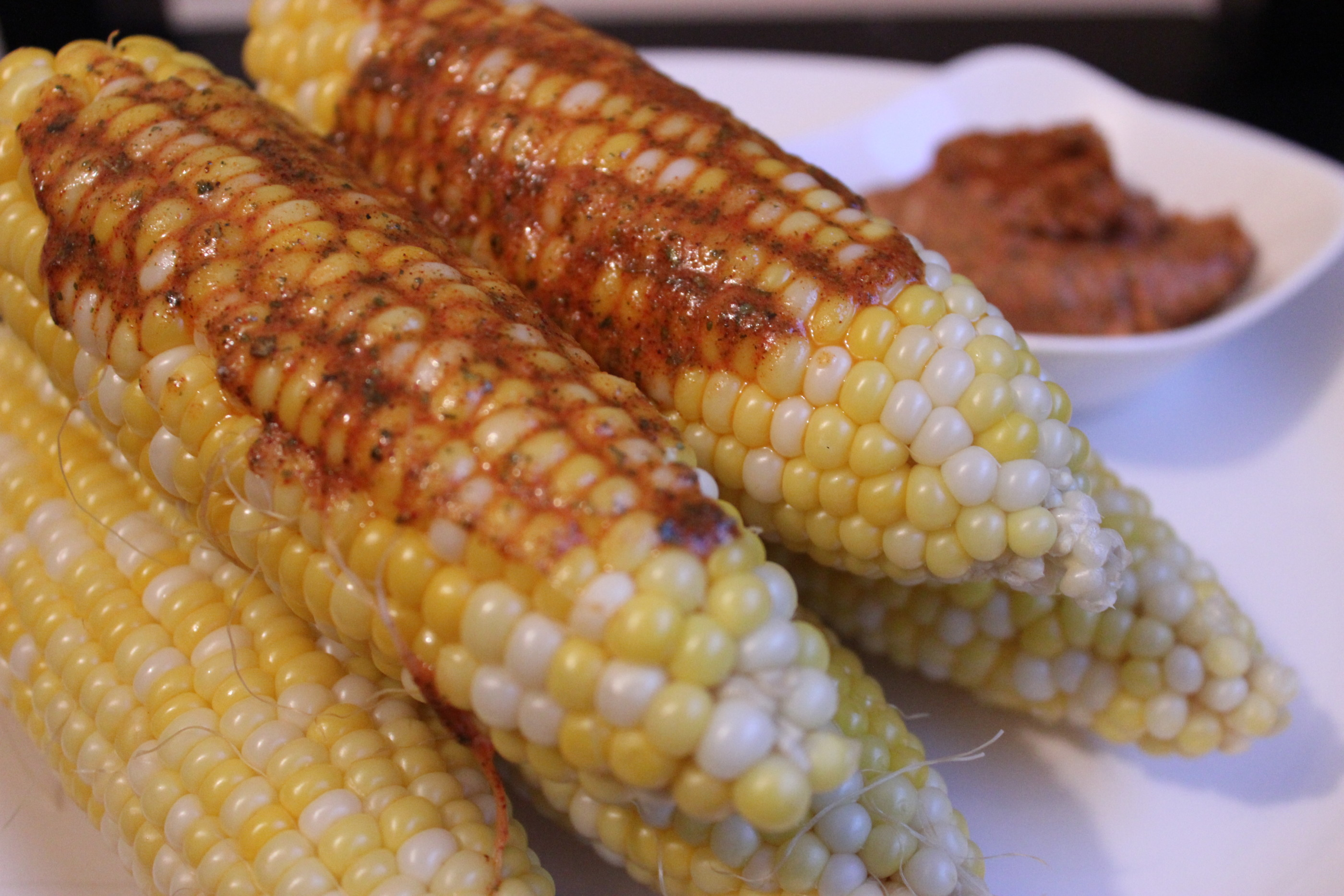 Grilled Corn on the Cob with Smoky Cajun Butter - These Things I Love
