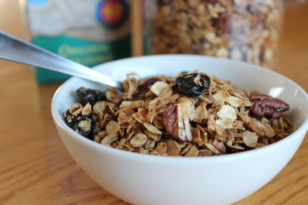 Homemade Granola | The Gluten Free Vegan
