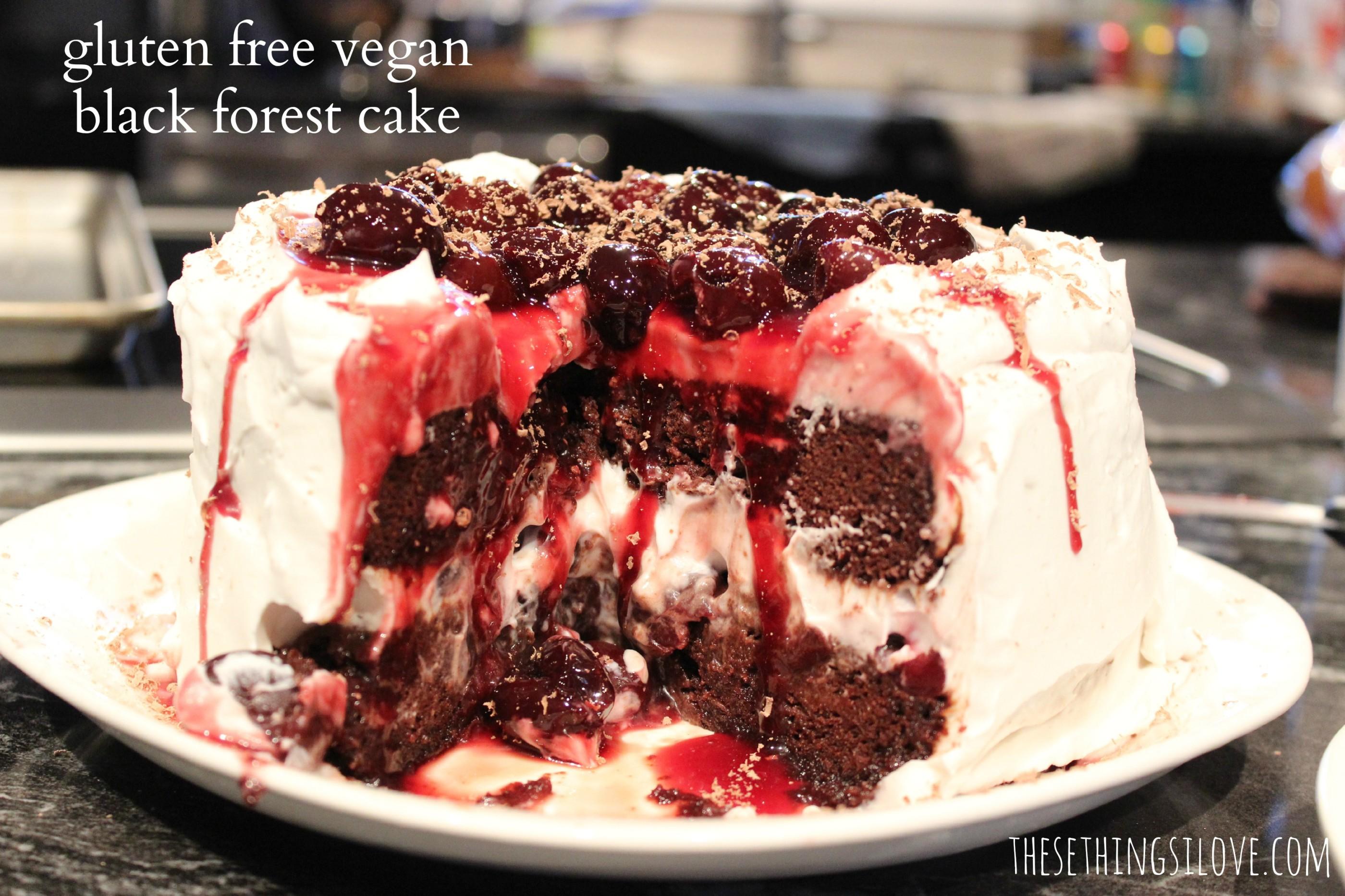 Black Forest Cake Gluten Free