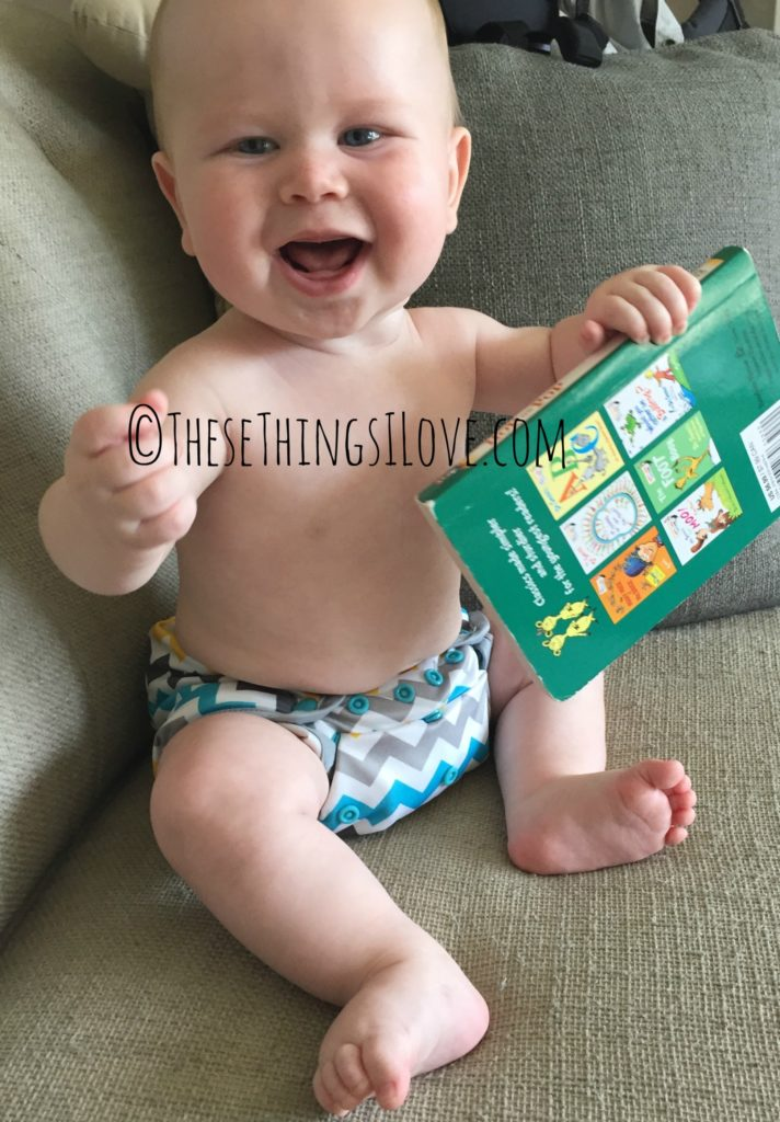 Cloth Diapering |These Things I Love