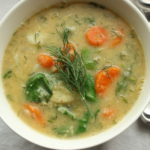 Lemon Dill Lentil Soup