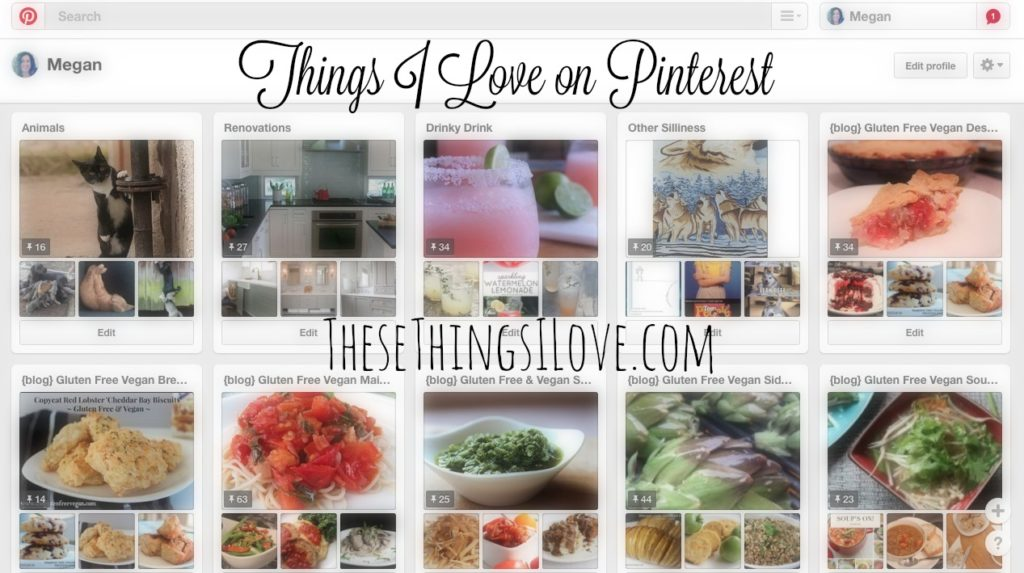 Things I Love on Pinterest | These Things I Love