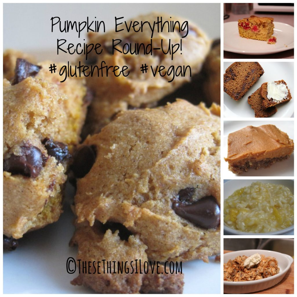Gluten Free Vegan Pumpkin Recipe Roundup