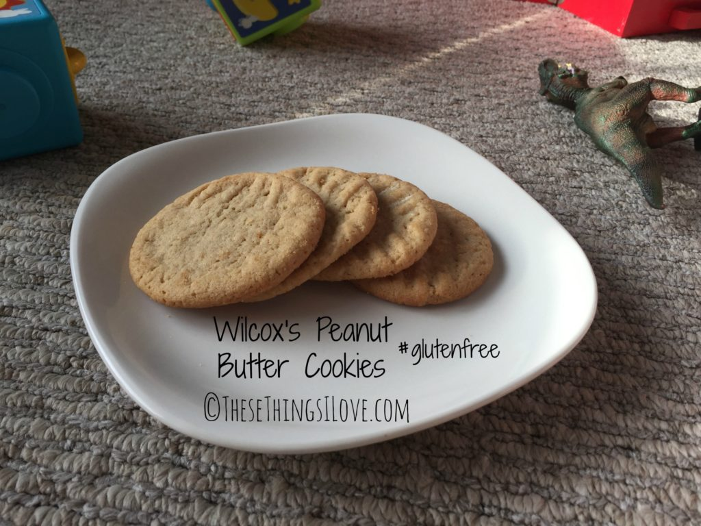 Peanut Butter Cookies | These Things I Love