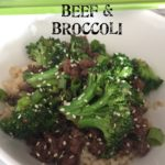 Quick & Thrifty: Beef & Broccoli