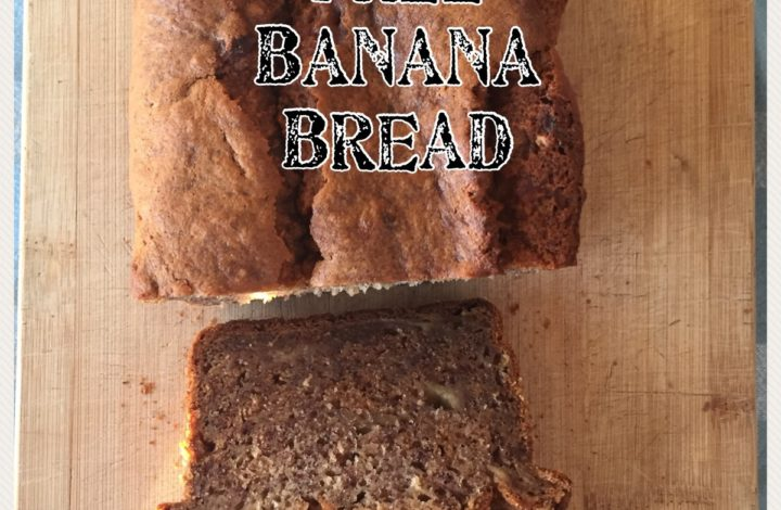 Banana Bread {gluten free, dairy free, vegan option}