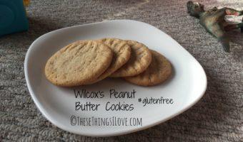 Wilcox's Peanut Butter Cookies
