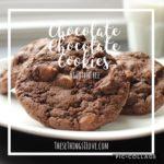 Chocolate Chocolate Cookies {gluten free}