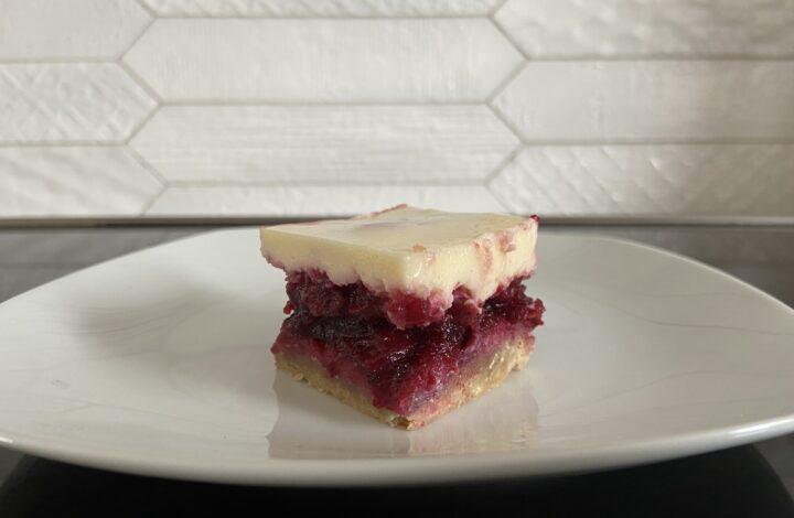 Sour Cherry Dessert Squares